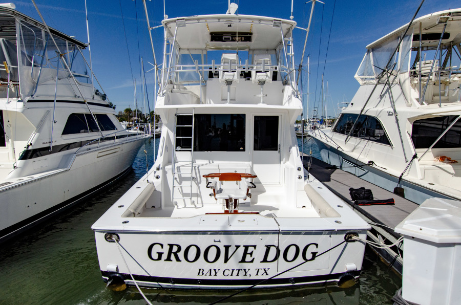 Viking 50 Convertible 2001 Groove Dog