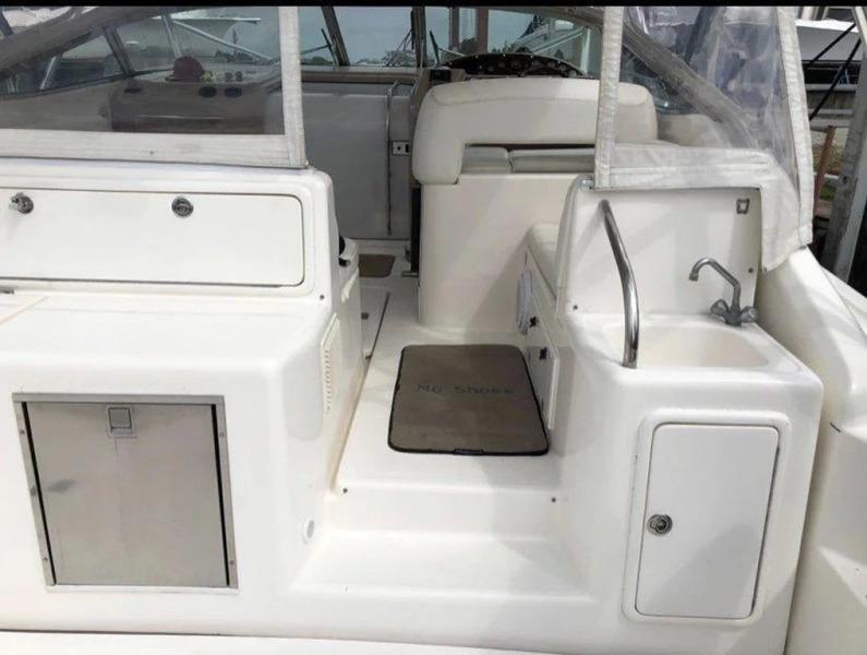 Cockpit Sink And Storage
