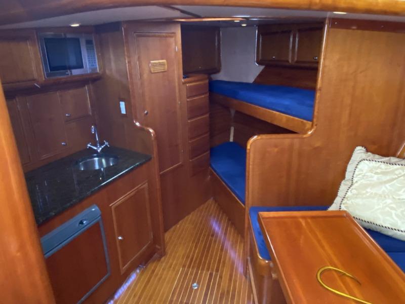 Cabin Interior To Forward