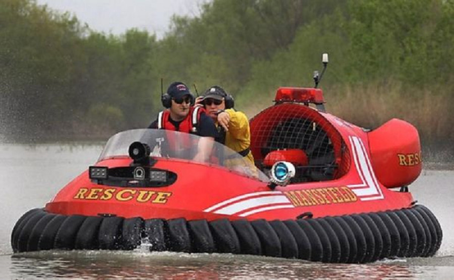 Photo of 14' Neoteric Hovercraft Rescue Hovercraft 3626 2021