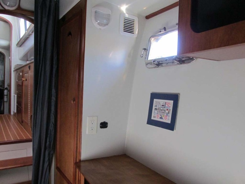 Port Berth Hanging Locker