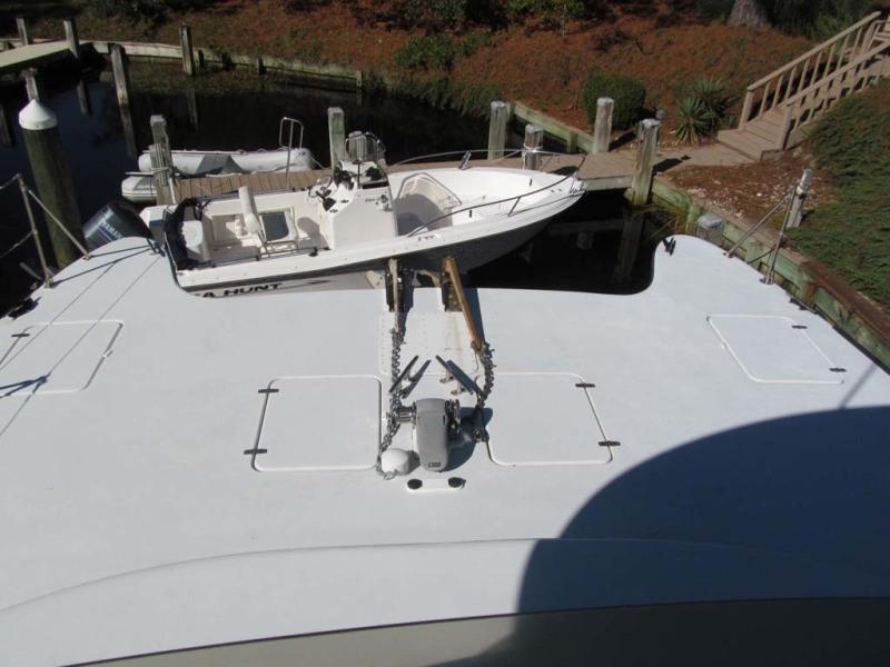 Bow Deck From Bridge
