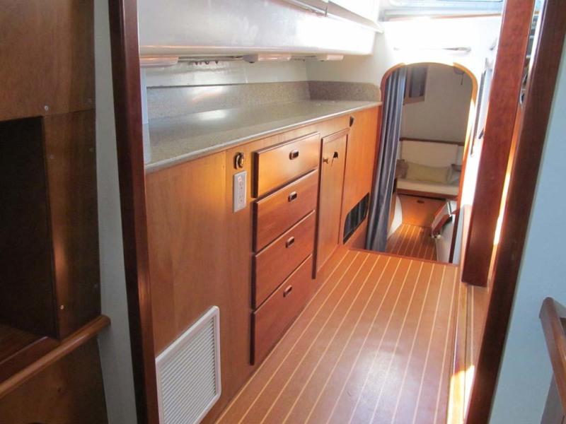 Port Side Salon Storage