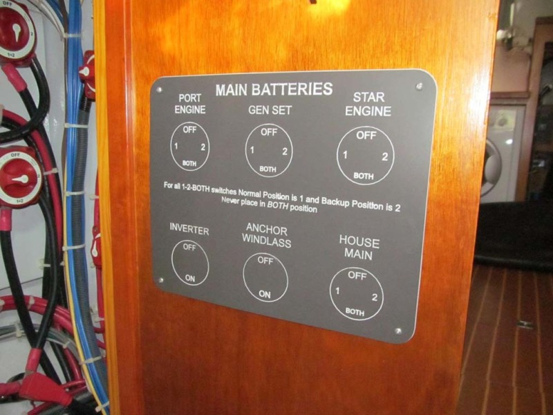 Battery Switches Display