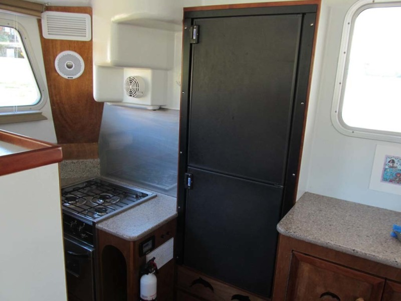 Galley Refrigerator Freezer
