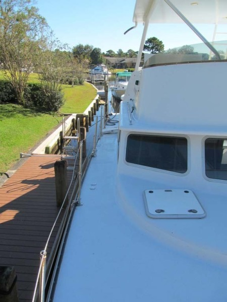 Bow Deck Starbaord Aft