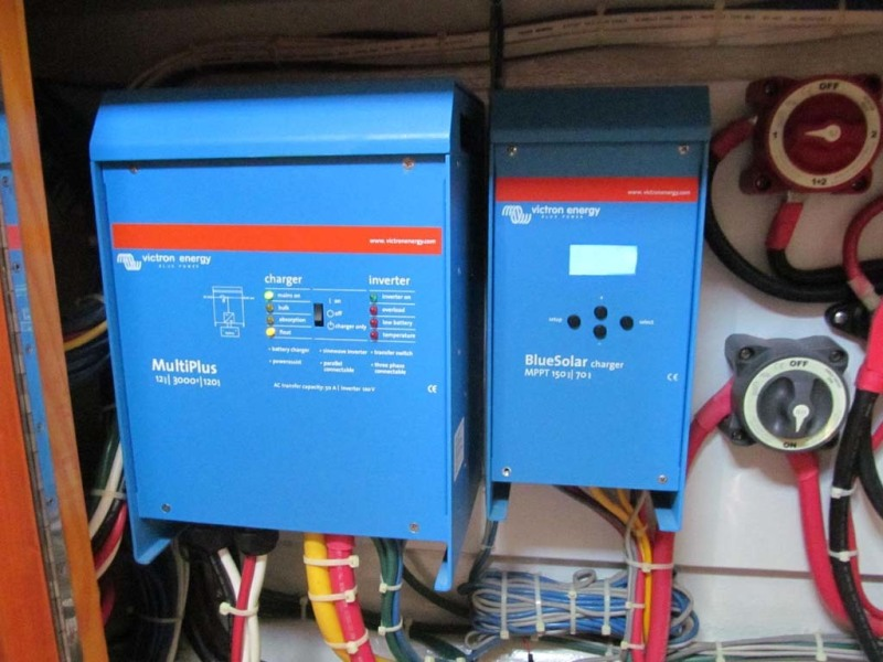 Charger Inverter And Soalr Controls