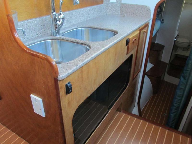 Galley Inboard Counter