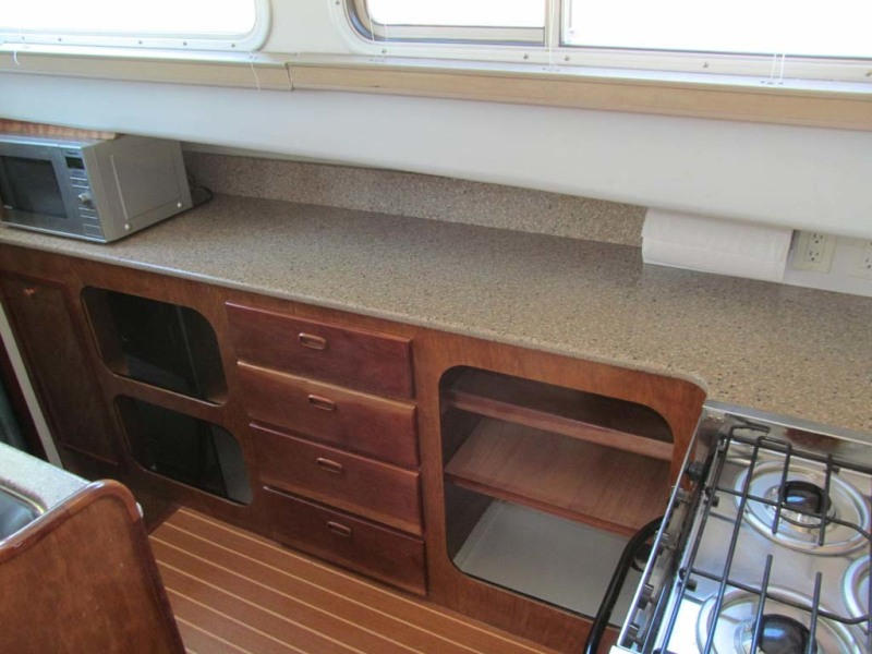 Galley Outboard Counter