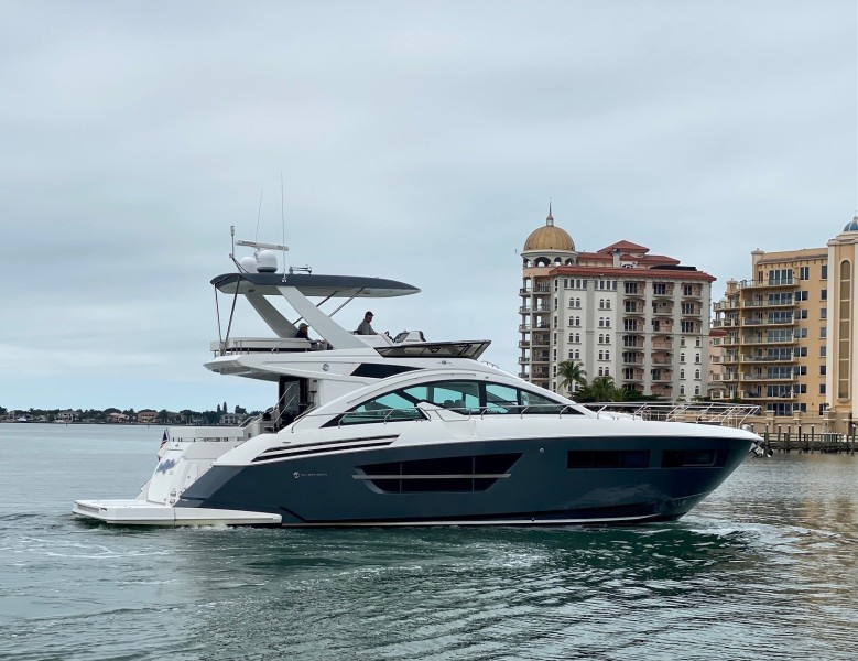 Cruisers-60 Cantius 2018-Sea Rhythm III Anna Maria-Florida-United States-2018 Cruisers 60 Cantius FB  Sea Rhythm III  Starboard Profile-1577922-featured