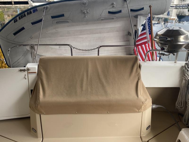 Aft Cockpit Seat And Storage
