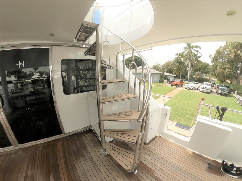 Aft Deck Staircase
