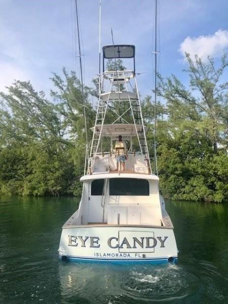 Rybovich 45 - Eye Candy - Tuna Tower