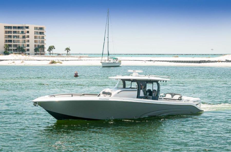 2019 Fountain 43 NX - Galati Yacht Sales Trade