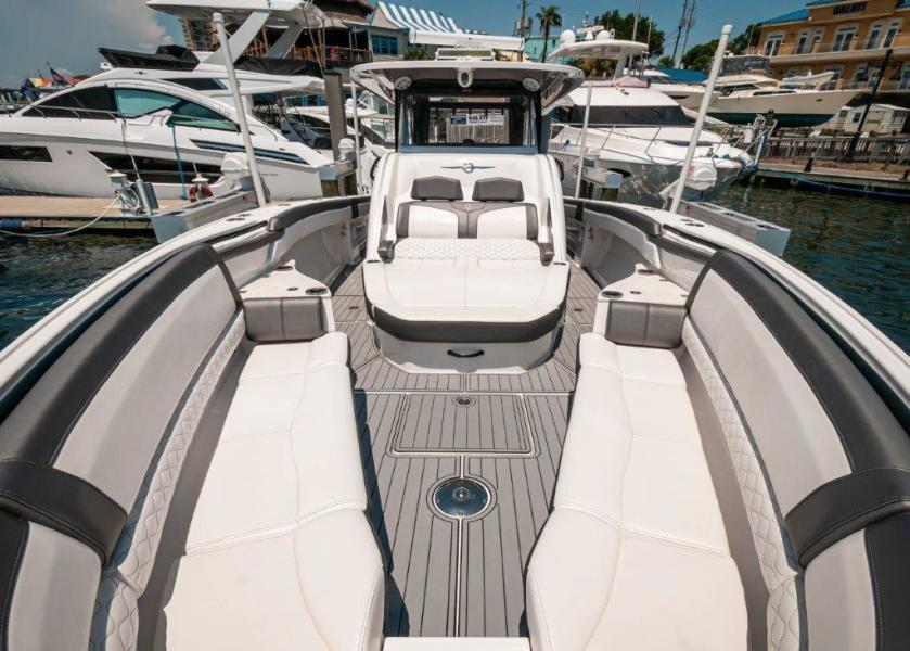 2019 Fountain 43 NX - Galati Yacht Sales Trade - Bow