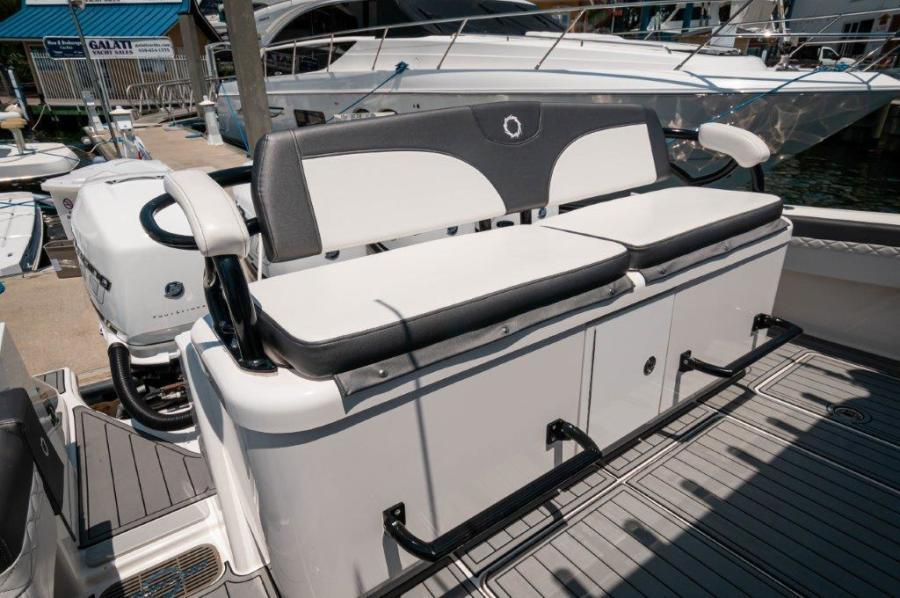 2019 Fountain 43 NX - Galati Yacht Sales Trade - Cockpit