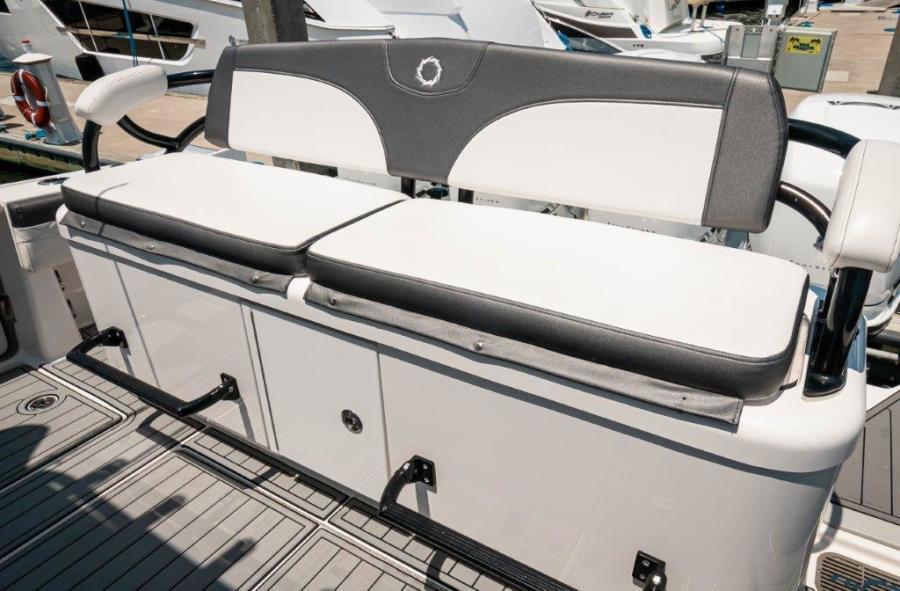 2019 Fountain 43 NX- Galati Yacht Sales Trade - Cockpit