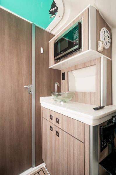 2019 Fountain 43 NX- Galati Yacht Sales Trade - Galley