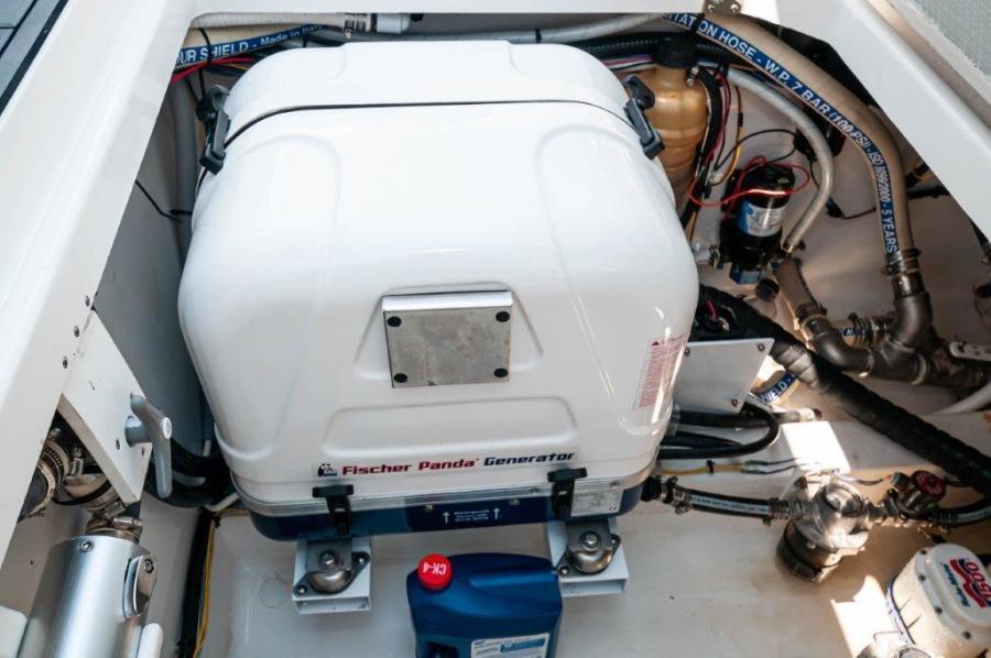 2019 Fountain 43 NX- Galati Yacht Sales Trade - Generator
