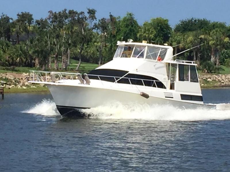 Ocean Yachts-Cockpit Motor Yacht 1997-Joanie R Palm Coast -Florida-United States-1576555-featured