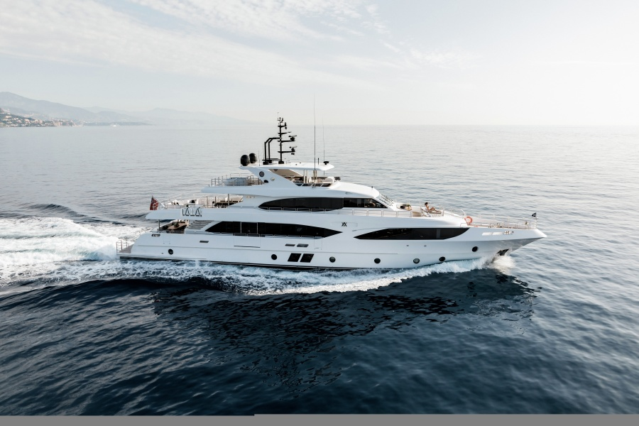 photo of 125' Gulf Craft Majesty 125 2018