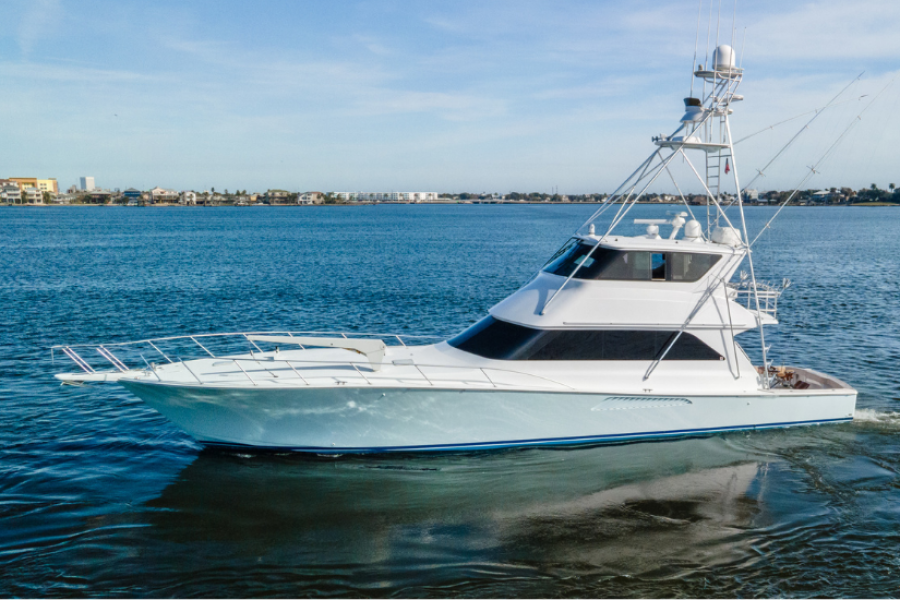 Viking 65 Enclosed Bridge 2000 Coastal Outlaw