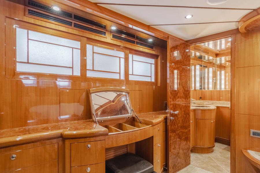 Master Stateroom Vanity