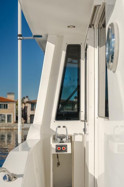Controls on Boat Deck