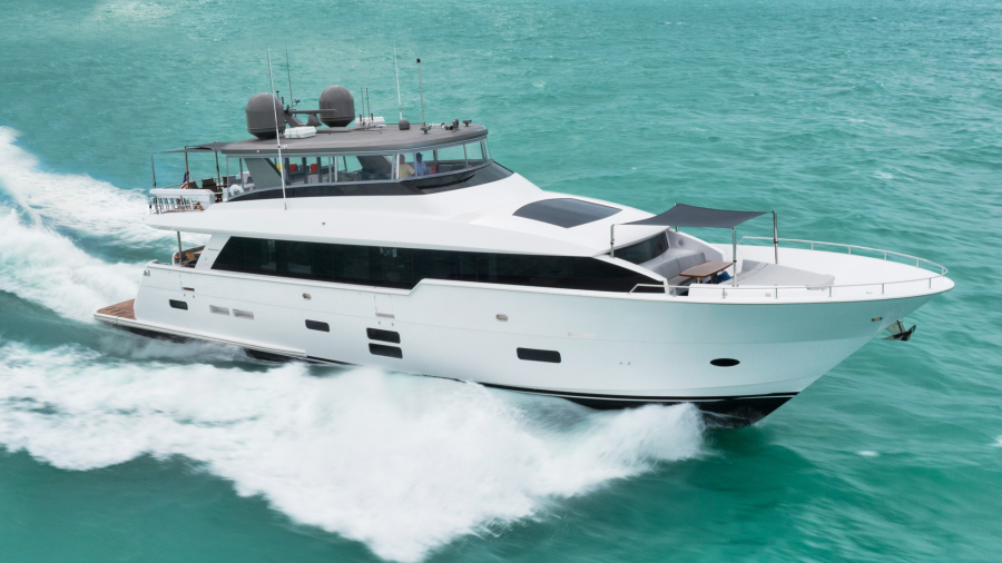 Picture Of: 90' Hatteras 2019