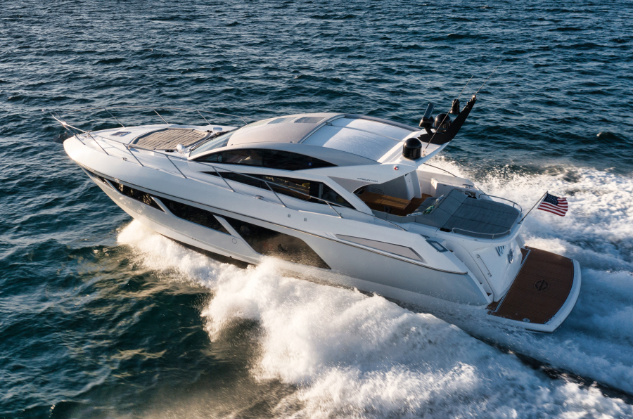 Sunseeker-Predator 2016-Wired Up Fort Lauderdale-Florida-United States-Port Aerial Profile-1585615-featured
