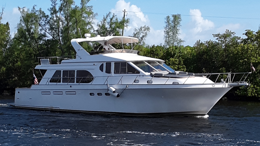 Ocean Alexander-610 Pilothouse 2000-Name Reserved Fort Lauderdale-Florida-United States-1600391-featured
