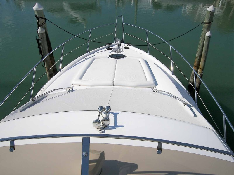 Foredeck From Bridge