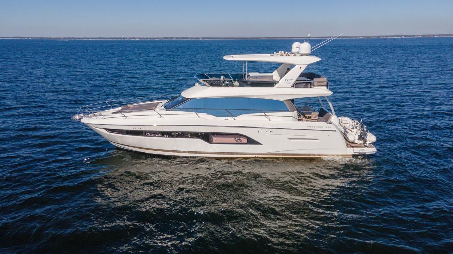 2017 63 Prestige 630FB   Profile Port