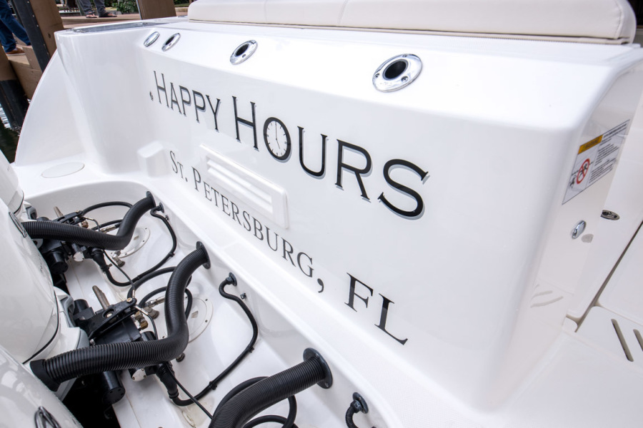 2018 Boston Whaler 345 Conquest - Happy Hours - Transom