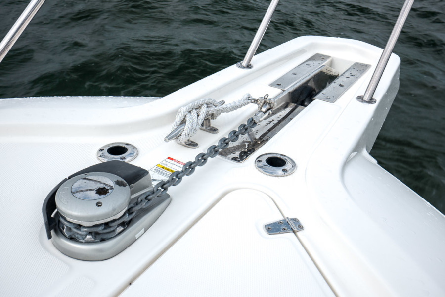 2018 Boston Whaler 345 Conquest - Happy Hours - Windlass