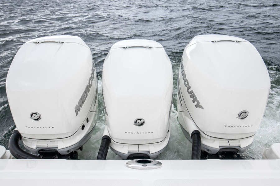 2018 Boston Whaler 345 Conquest - Happy Hours - Triple Mercury 350 Verados