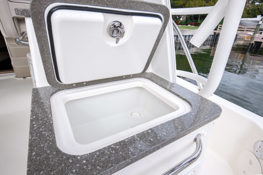 2018 Boston Whaler 345 Conquest - Happy Hours - Cockpit Wet Bar