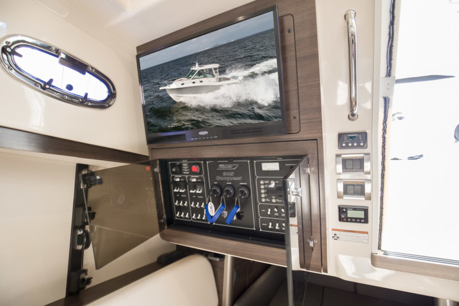 2018 Boston Whaler 345 Conquest - Happy Hours - Electrical Panel