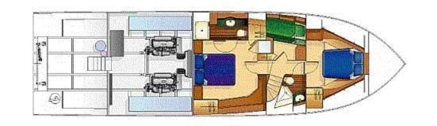Below Deck Layout