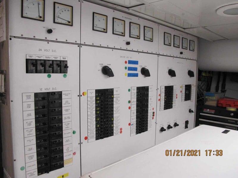 Main Ship's Panel