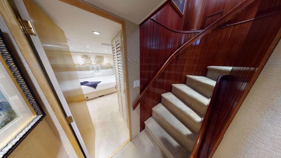 Companionway Stairs from Salon