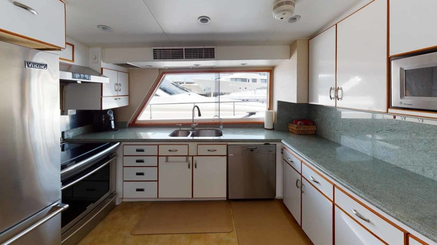 Galley from Companionway