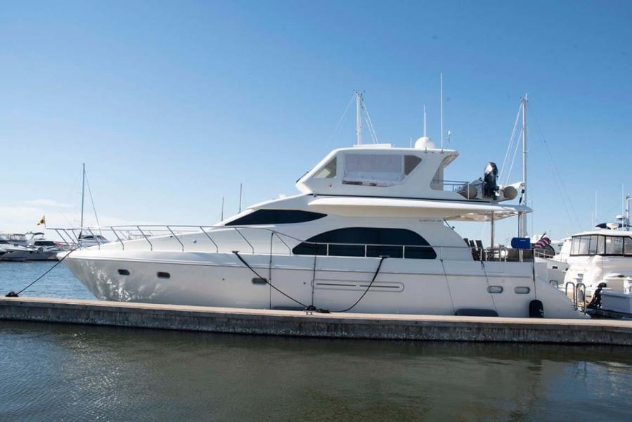 Hampton-60 Motor Yacht 2007-Family Biz Mount Pleasant-North Carolina-United States-Main Profile-1599860-featured