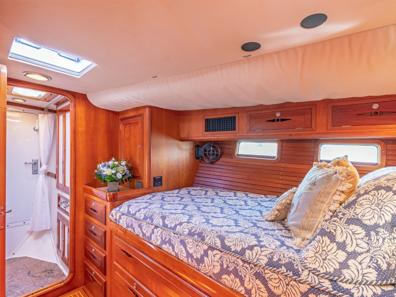 Stbd. Guest Cabin, Looking Fwd.