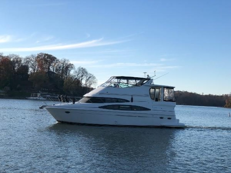 Carver-466 Motor Yacht 2002-Necessity Harrison-Tennessee-United States-1601410-featured
