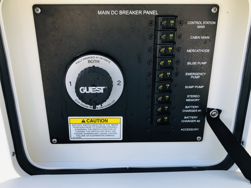 DC Breaker Panel and Battery Switch
