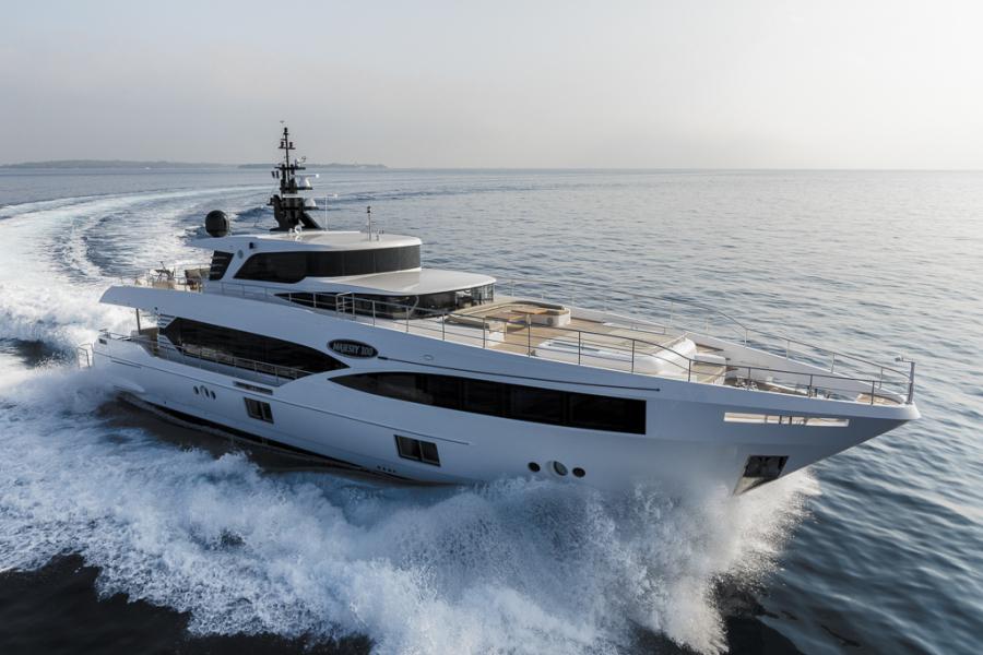 photo of 100' Majesty Yachts Majesty 100 2022