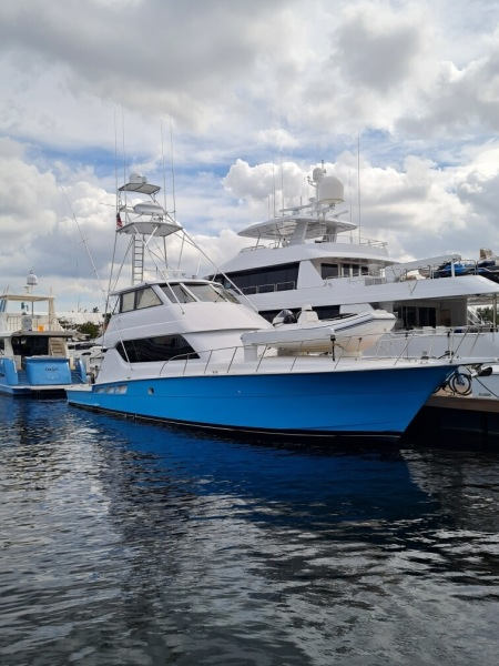Hatteras-Sportfisherman 2000-Honu Fort Lauderdale-Florida-United States-Blue Hull-1605431-featured