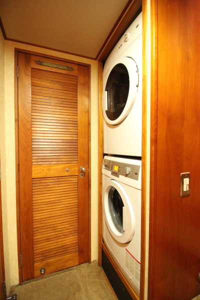 1982 Broward 98 Motor Yacht - Laundry Room