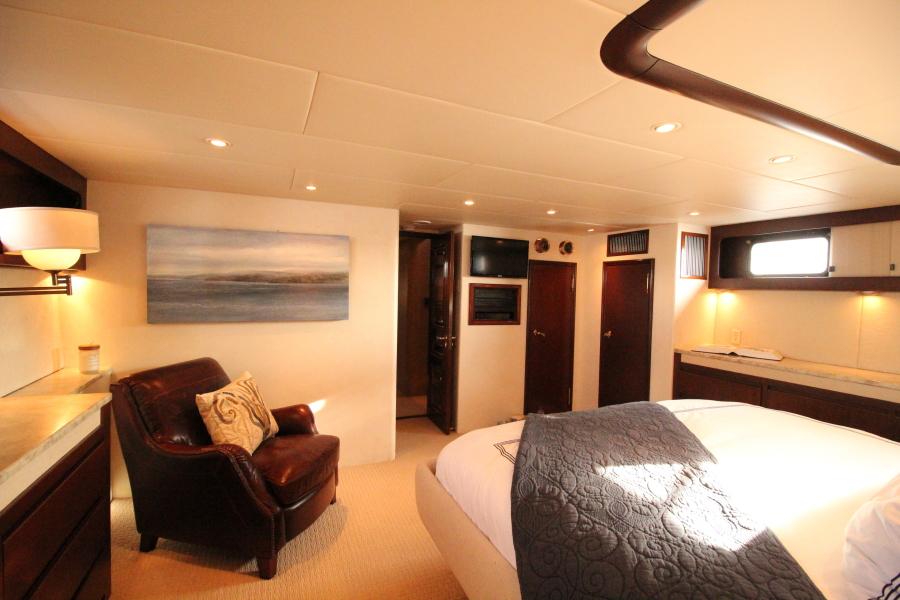 1982 Broward 98 Motor Yacht - Master Stateroom